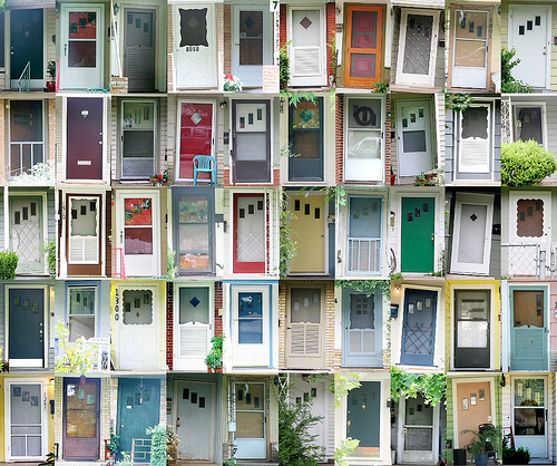 Retro front doors for your 40s 50s or 60s ranch house for 60s architecture homes