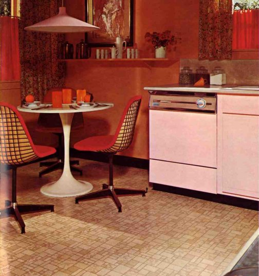 Retro flooring awesome vintage designs from armstrong circa ask home design - Retro flooring kitchen ...