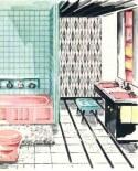 wallpapered-bathroom-pink-turquoise-black.jpg