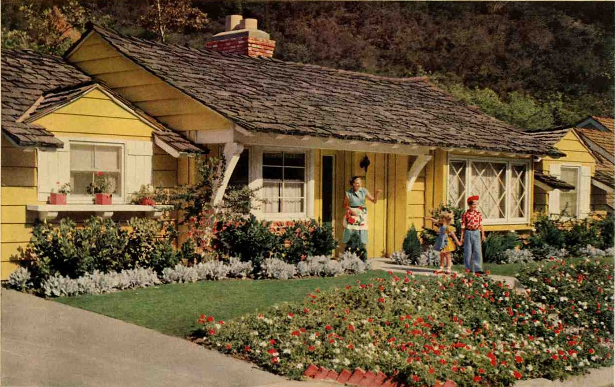 1953 Storybook Ranch Home Envy Strikes Bigtime Retro