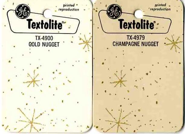 Vintage Countertop Materials : Vintage countertop laminate from GE Textolite
