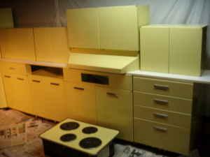 metal kitchen cabinets GE 50s