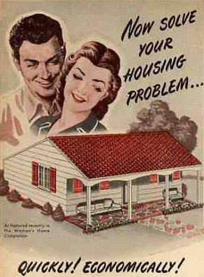 world war II postwar housing 1946