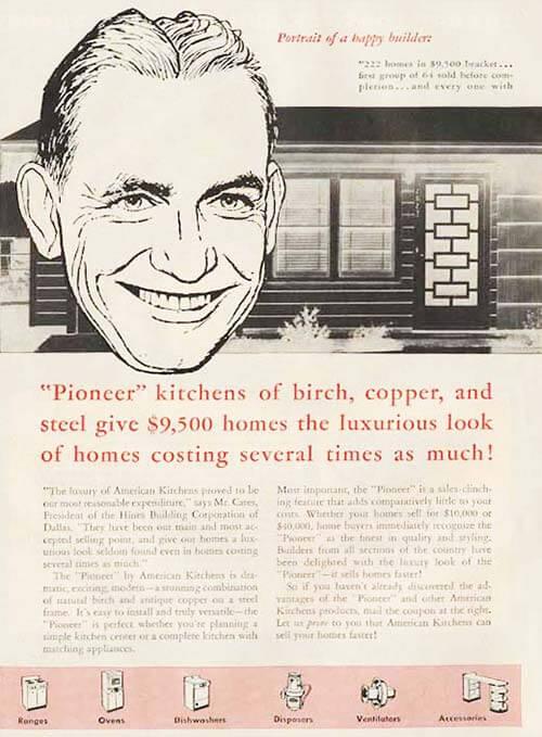 avco american pioneer kitchen 1956