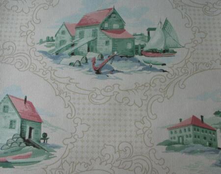 vintage 50s wallpaper