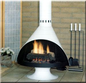 Malm fireplace