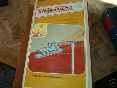 Mint-in-box Sears kitchen faucet