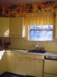 Alice's yellow Geneva kitchen