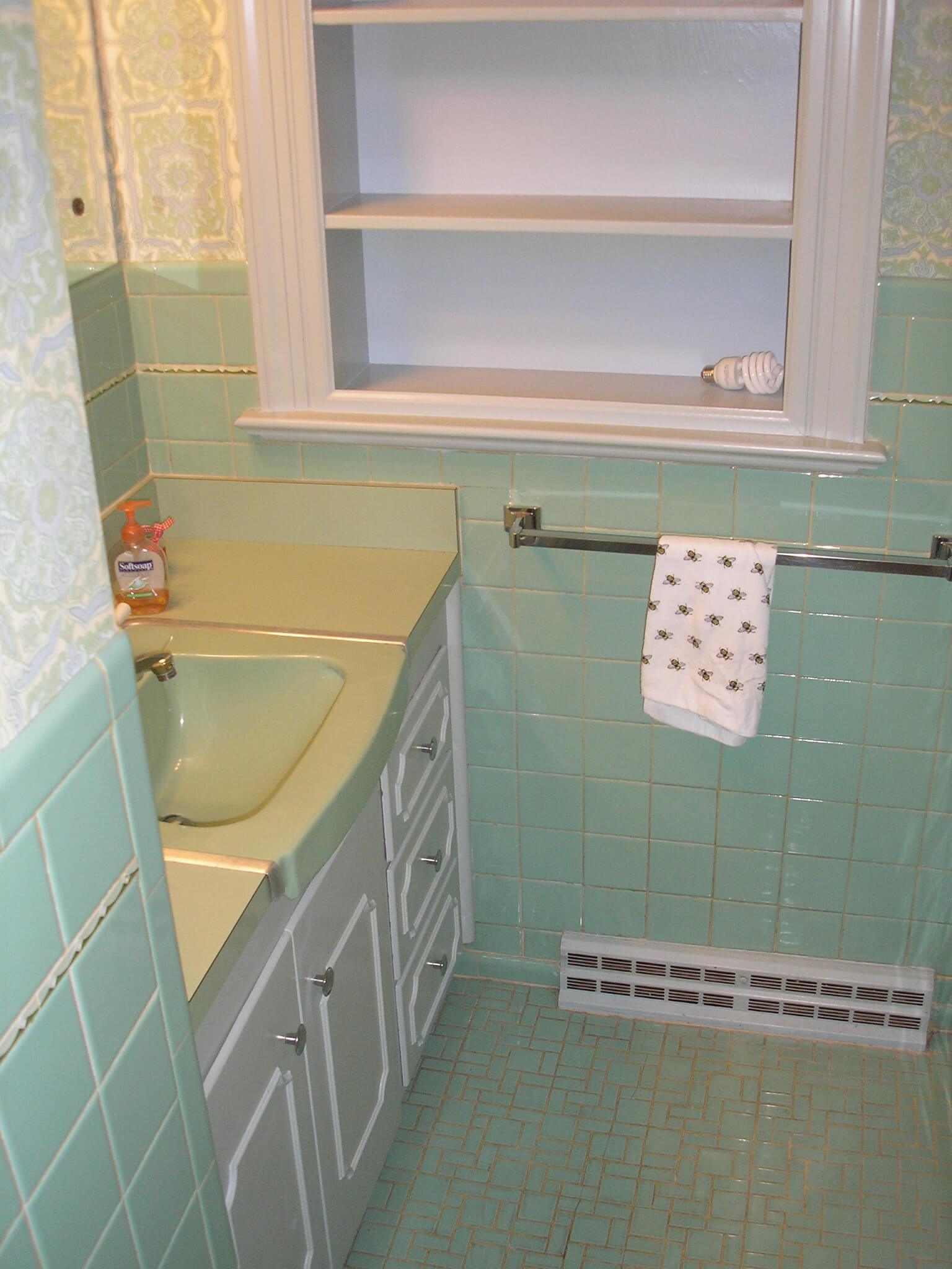 Mint Green Bathroom Color Scheme Viewing Gallery
