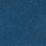 """A blue Amstrong linoleum floor. If you went with a color on the counter and floor, the floor should be darker yet complementary. Dark floors """"ground"""" a room."""