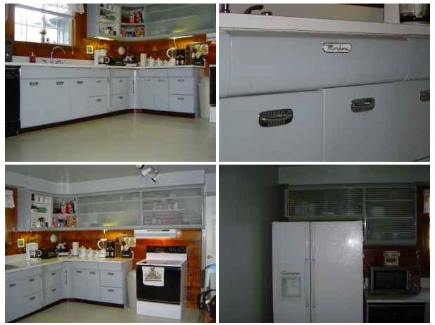 Beautiful set of Morton metal kitchen cabinets for sale in ...