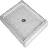 Crane Terrazzo shower base - #1 choice for showers for sure!