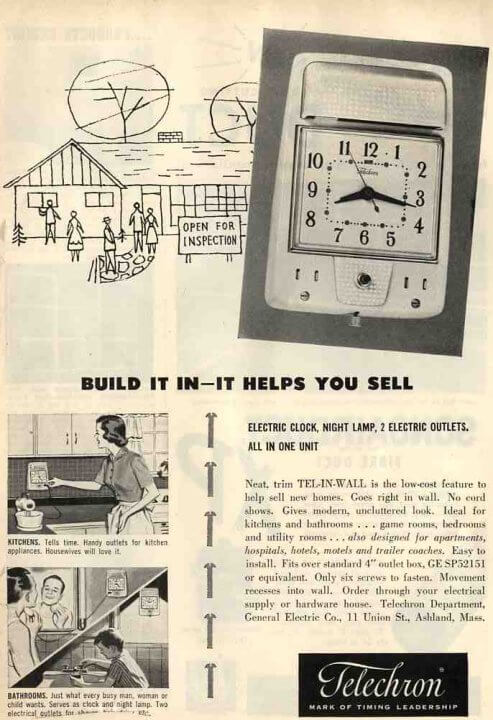 1954-ge-recessed-clock616