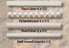 Liner tile from B&W Tile