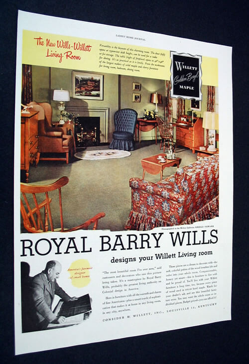 royal barry wills design for willett