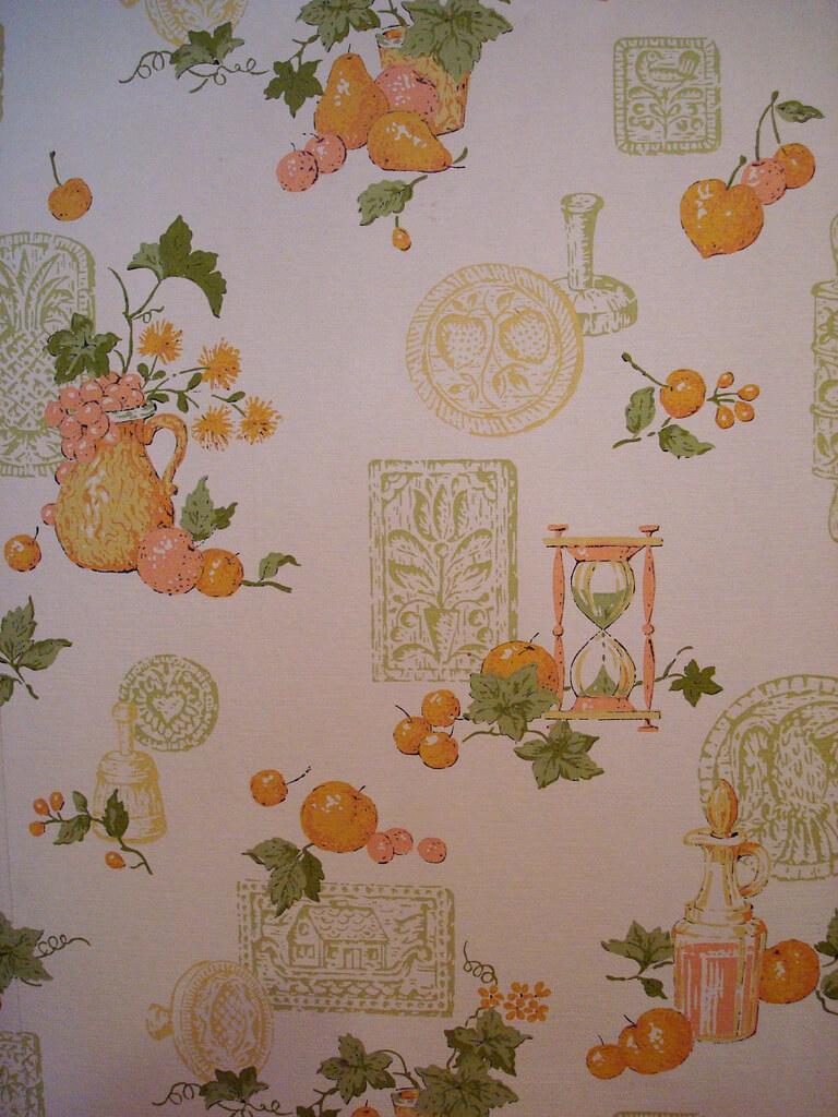 vintage 70s wallpaper
