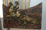 vintage matador plaque
