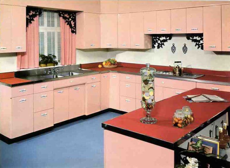 Where to find vintage kitchen cabinet pulls  from Youngstown, Geneva