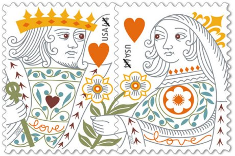 king-and-queen-of-hearts-stamp