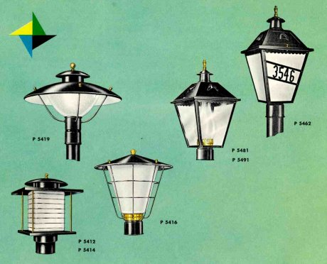 41 midcentury lighting ideas post lanterns lamp posts. Black Bedroom Furniture Sets. Home Design Ideas