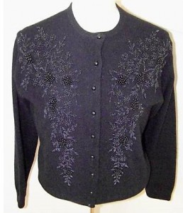 vintage-black-beaded-sweater