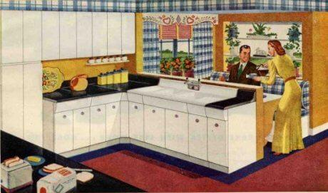 Soffits: Midcentury kitchens need them - Retro Renovation