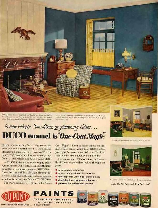Early american design why was it popular in the mid 20th for 1950s home design ideas