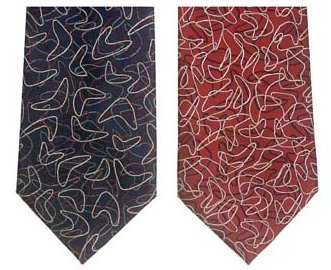 boomerang-neckties