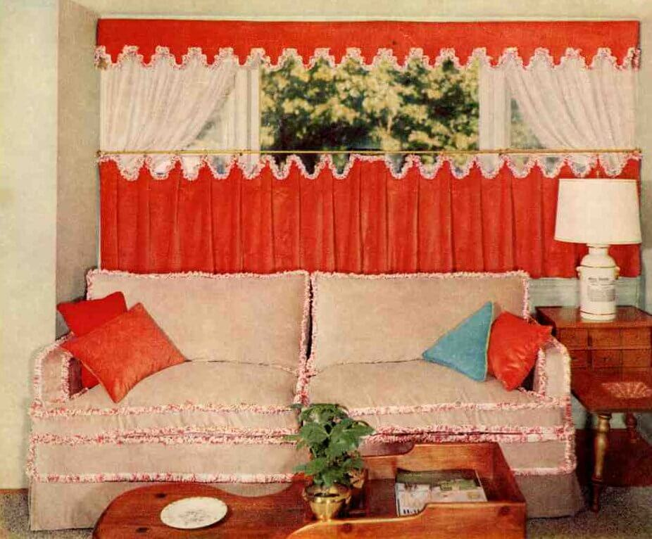 15 cafe curtain designs and ideas - Retro Renovation