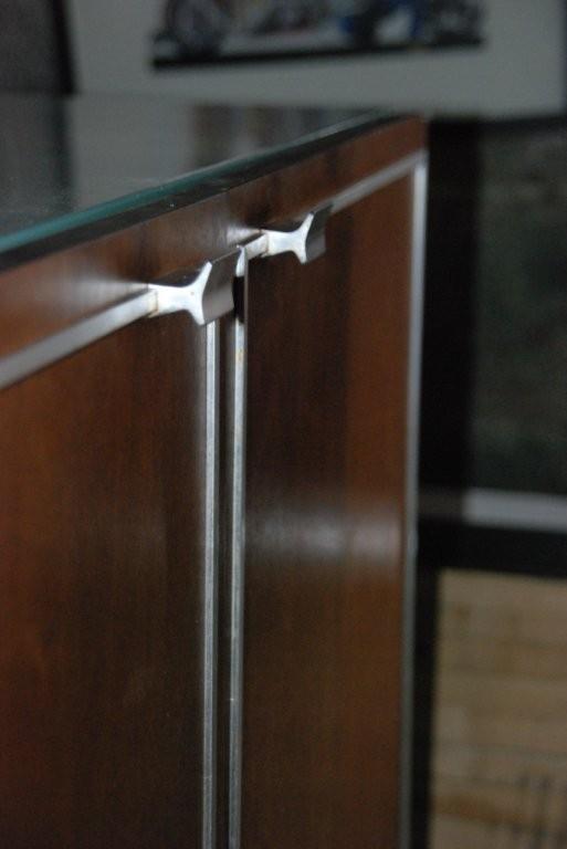 Erika S Metal Kitchen Cabinets With Wood Doors Retro