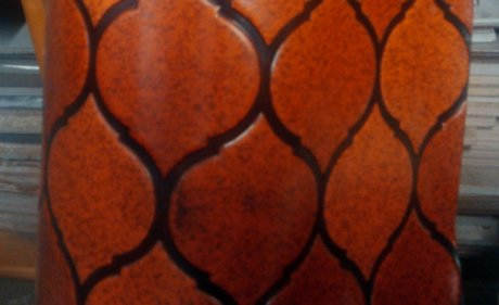 vintage-orange-persian-vinyl-flooring