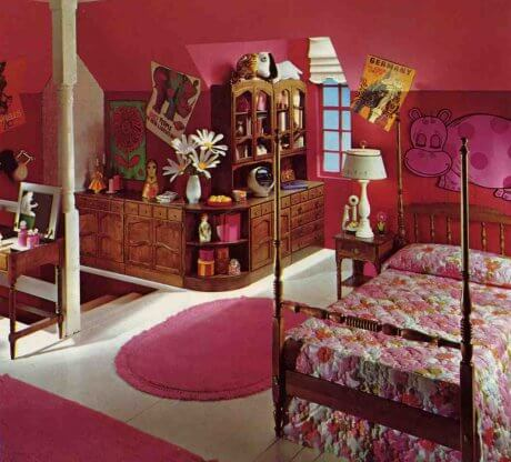 mid century children 39 s bedrooms from ethan allen 1974 retro renovation. Black Bedroom Furniture Sets. Home Design Ideas