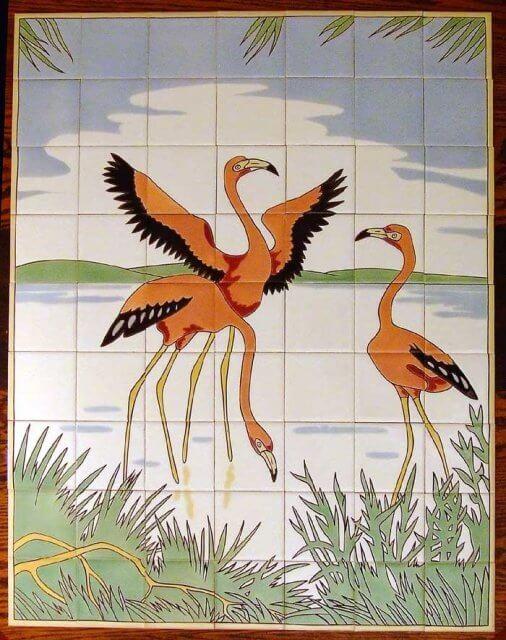 pink-flamingos-mosaic-tile-company