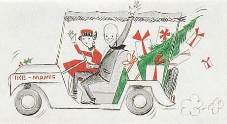 ike-and-mamie-eisenhower-christmas-card-1957