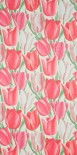 Sanderson Early Tulips wallpaper — for a pink bathroom