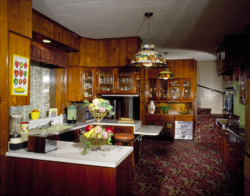 Retro wood dining set - Our Series On Historic Mid Century Homes Open To The Public Continues