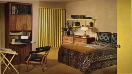 17 groovy home interiors from 1965 retro renovation for 60s apartment design