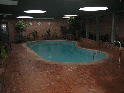 1960s indoor pool in texas ranch house