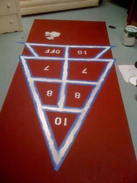 make your own shuffleboard