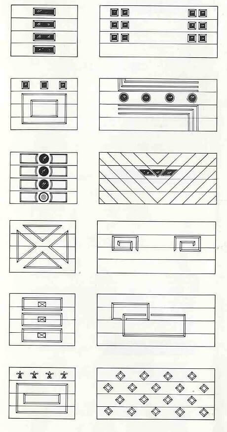 6 pages of ideas for garage doors from the 1950s retro for 1950s front door designs