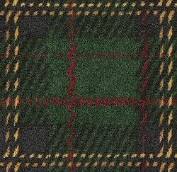 green scottish plaid carpet from shaw