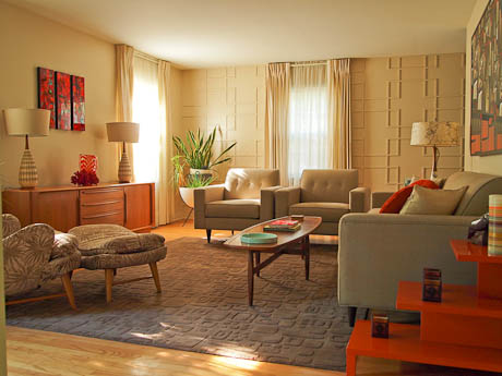 Mid Century Danish Modern Living Room mid century modern living room design ideas room design