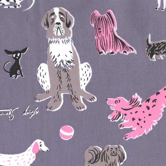 tammis keefe dogs in gray