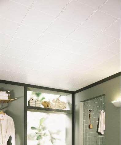 white-ceiling-tiles