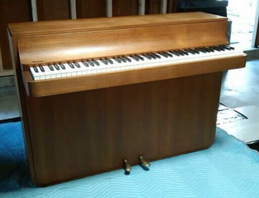 mid century zwicki pianette