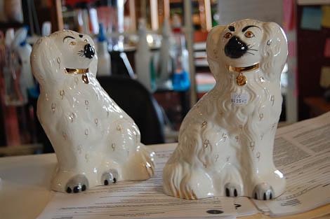 beswick ware staffordshire dogs