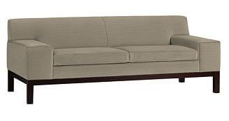modern sofa from west elm