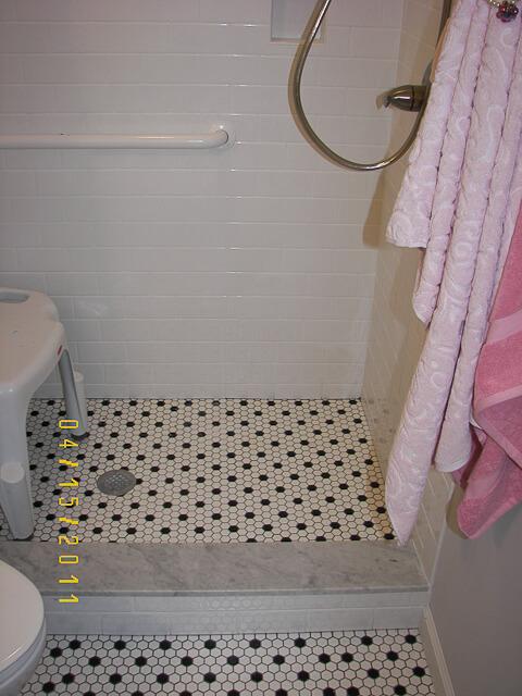 Gallery For gt Vintage Bathroom Floor