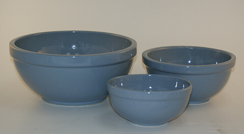 gainey ceramics mixing bowls