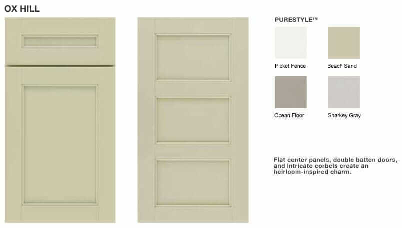 Martha Steward Oxhill Kitchen Cabinet Doors